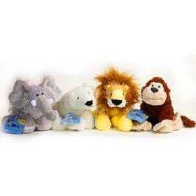 Webkinz: Cheeky Monkey, Elephant, Lion, Polar Bear ()