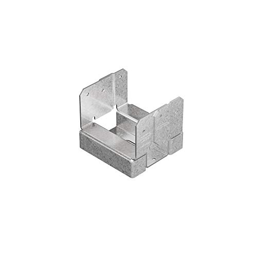 Post Anchor Concrete - Simpson Strong Tie ABA44Z Z-Max 4 by 4 Adjustable Post Base, 1 Each