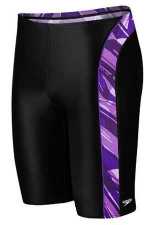 (Speedo Endurance+ Zee Wave Jammer Swimsuit,Purple (005),26)