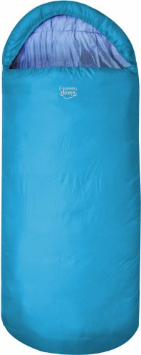 Highlander Kinder Schlafsack Sleephaven Junior, Azurblau, One size, SB182-AZ-01