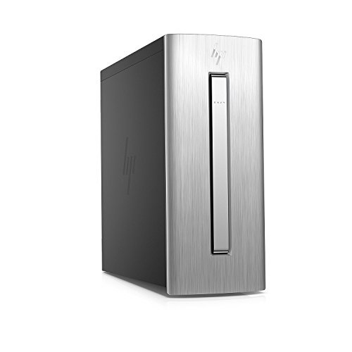 2017 HP Envy 750 Gaming Desktop PC, Intel Core i5-6400 Quad Core 2.7GHz, 12GB DDR4 RAM, 1TB HDD + 128GB SSD, AMD R7 450 Graphics, DVD+/-RW, Keyboard + Mouse, Windows 10