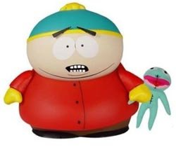 Mezco Toyz South Park Deluxe Action Figure 11 Inch Cartman w/ Clyde Frog Plush