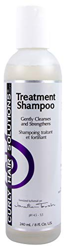 CURLY HAIR SOLUTION - Treatment Shampoo (8Ounce / 240Milliliter)