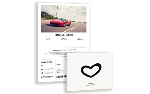Drive a Ferrari in New York - New Jersey - Experience Gift Card NYC - GO DREAM - Sent in a Gift Package ... (Store Nyc Jersey)