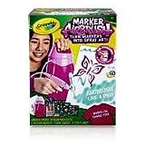 Pink - Crayola Marker Airbrush Kit