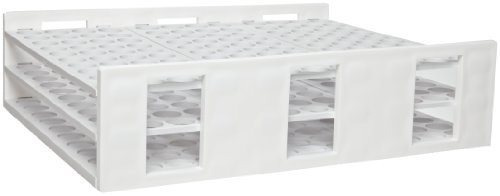 - Bel-Art F18872-0000 Radioimmunoassay Tube Rack; 16-20mm, 120 Places, 13¹⁄₄ x 10¹⁄₄ x 3¹⁄₂ in., Polypropylene