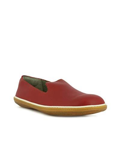 Ne08 el Rouge Soft Viajero Tibet Tibet Femme Grain Chaussures rtqrwRZWSF