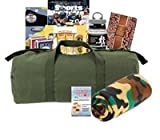 The Chemoflauge Army Green Duffle Cancer Bag