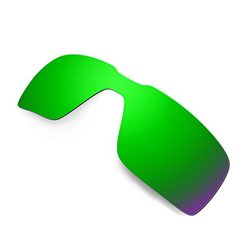 4ca20219d1c38 Amazon.com  Hkuco Mens Replacement Lenses For Oakley Probation  Red Blue Black 24K Gold Emerald Green Sunglasses  Clothing
