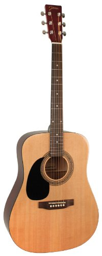 - Johnson JG-624-N 620 Player Series Acoustic Guitar, Left-Handed
