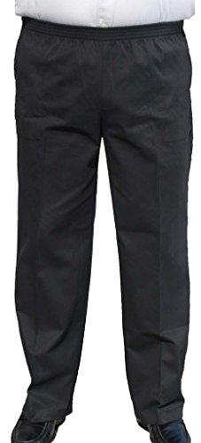 Elastic Waist Casual Pants - 9