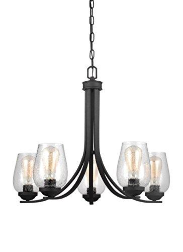 Sea Gull Lighting 3127805-839 5LT Chandelier, Blacksmith