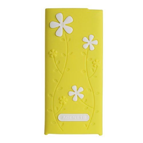 - Agent18 Flowervest Case for iPod Nano 4G (Yellow/White)