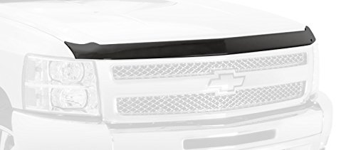 Auto Ventshade 322115 Aeroskin Flush Mount Dark Smoke Hood Protector for 2015-2018 Ford - Protector Molded Hood