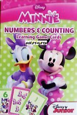 [Minnie Mouse Numbers & Counting 36 Learning Game Cards] (Homemade Disney Halloween Costumes)