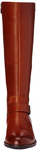 Clarks Mint Treat GTX - Botas Cavalières para mujer marrón - Braun (Dark Brown Leather)