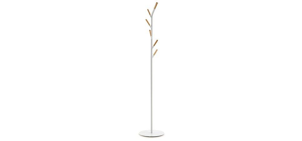 La Forma - Bren Perchero Blanco Puro con Estructura de Metal ...