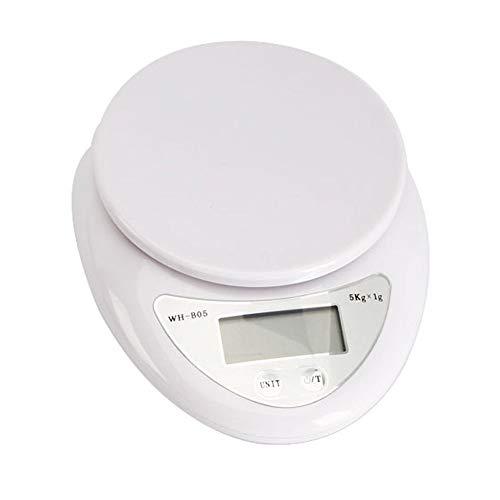5kg 5000g/1g Digital Kitchen Food Diet Scale Electronic Weig