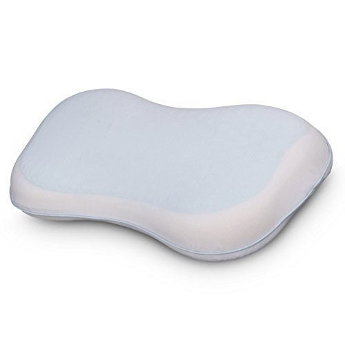 Comfort & Relax Memory Foam Toddler Pillow with Cool Gel Pad, for Kids Age 2-10