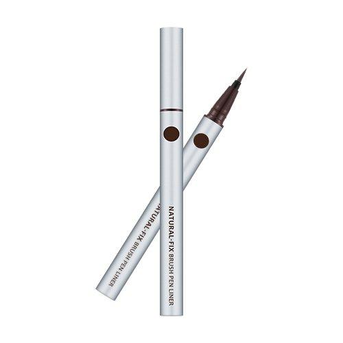 [Missha] Natural Fix Brush Pen Liner 0.6g [Brown]