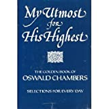 My Utmost for His Highest, Oswald Chambers, 0929239229