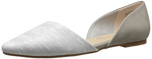 BC Footwear Women's Society Exotic, Grey/White, 8.5 M US