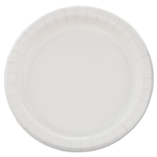 """SOLO Cup Company Bare Eco-Forward Clay-Coated Paper Plates, 8.5"""", Deep Well, Mediumweight, 125/Pk - Includes four packs of 125 each."""
