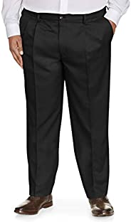 Amazon Essentials Men's Classic-Fit Wrinkle-Resistant Pleated Chino