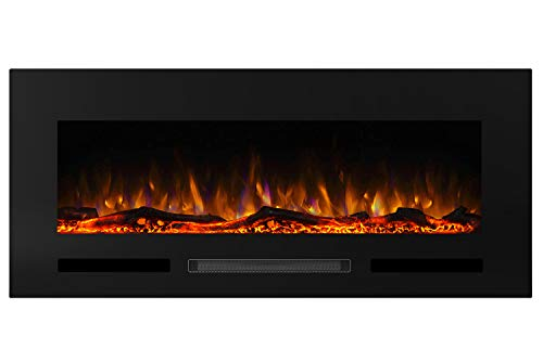 charlton recessed electric fireplace