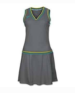 Joma Vestido Padel Terra Gris - Talla L: Amazon.es: Deportes y aire libre