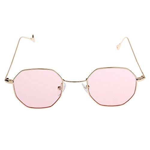 2 Sharplace Retro soleil Fashion Lunettes Été Octagon de pièces Eyeglasses Unisex Vintage drwFZzrq