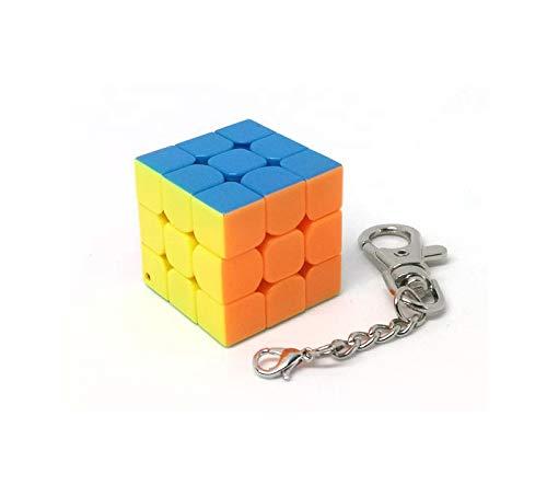 MoYu Llavero Cubo Rompecabezas 3x3x3 stickerless (3 cms ...