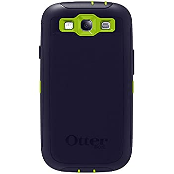 OtterBox Defender Series Case for Samsung Galaxy S III - Glow Green/Lake Blue (Discontinued by Manufacturer)