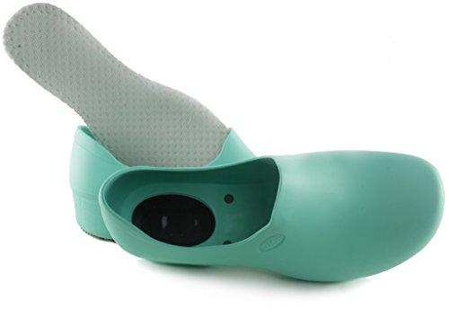 STICKY Bequeme Arbeitsschuhe für Frauen - Waterproof Slip Resistant - StickyPRO Schuhe Hellgrün