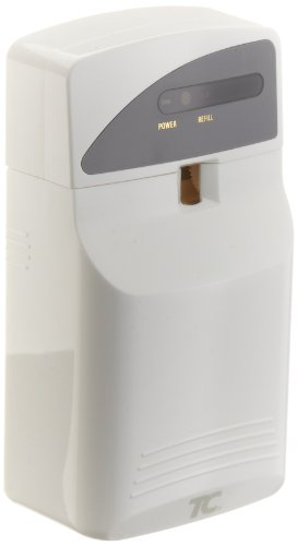 Rubbermaid Commercial FG400695 Pump System Automatic Dry Spray Odor Control Dispenser, LED, White