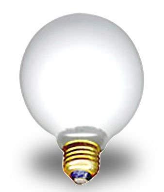 (Opaque White Decor Light Bulb is 3-3/4 Inch Diameter (Pkg/10))