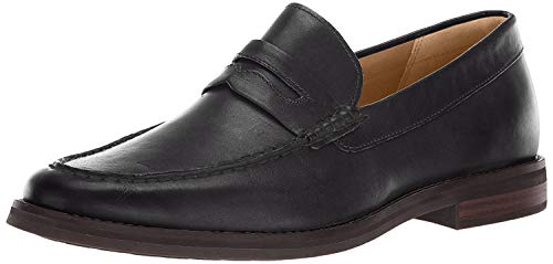 Sperry Men's Gold Cup Exeter Penny Loafer, Black, 10 M US (Gold Sperry Shoes)