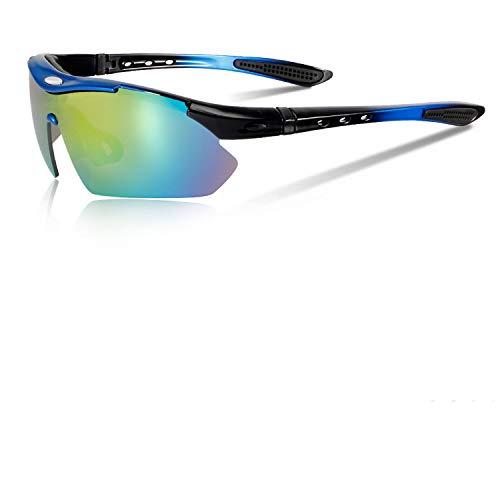 - Tour De France Polarized Cycling Sunglasses Bike Glasses Bicycle Goggles Hiking Fishing Sports Eyewear 4 Lens+Myopia Frame,04