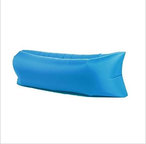 Inflable sofá tumbona, saco de dormir, portátil silla, colchón de aire Compresión de