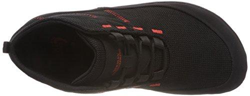 Sole Runner T1 Allrounder 4, Scarpe Stringate Derby Unisex – Adulto Nero (Black/Red)