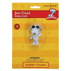 Snoopy Bendable Figure (Peanuts Joe Cool Snoopy Bendable Figure)