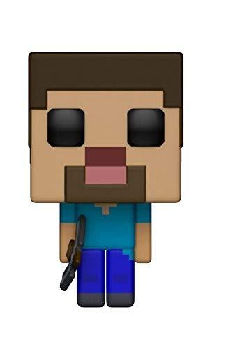 Funko POP! Games: Minecraft - Steve Collectible Figure]()