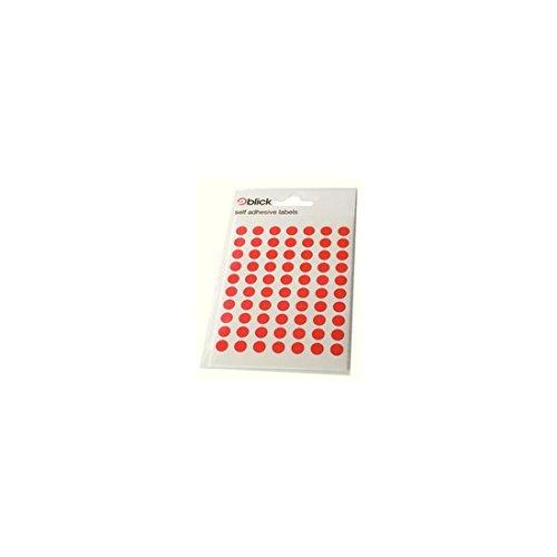 BLICK LABEL BAG 8MM RED PK490 003250 - Blick Label Bag
