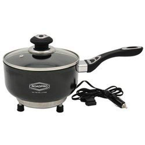 Roadpro RPSP225NS 12-Volt Portable Saucepan with Non-Stick Surface (Microwave For Vehicle)