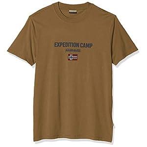 Napapijri Men's Sonthe New Olive Green T-Shirt