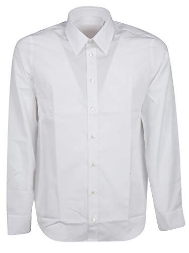 - Helmut Lang Men's J01hm501c0u White Cotton Shirt