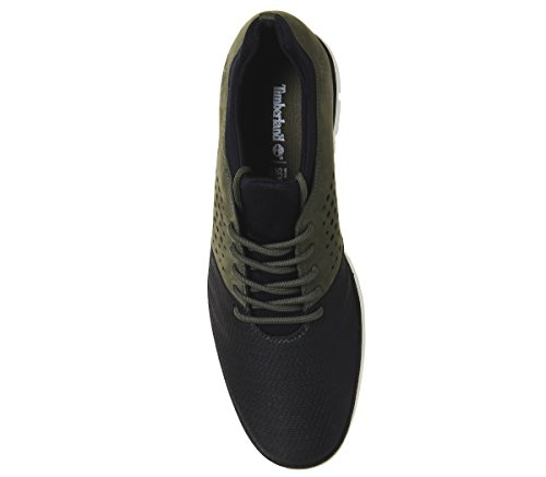 Stringate And Verde Scarpe Timberland Bradstreet Uomo Oxford Leather Sensorflex Fabric aSf1Y