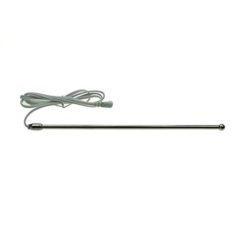 8.5inch Men Electric Shock Stainless Steel Lengthen Urethra Stimulating Rod Masturbation Sex Game Treatment Cable Accessories