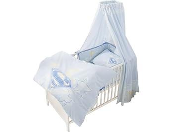 Superbaby Bettausstattung 4 Teilig Bestehend Aus Bettwäsche Und