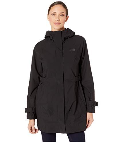 (The North Face Women's City Breeze Rain Trench TNF Black Small)